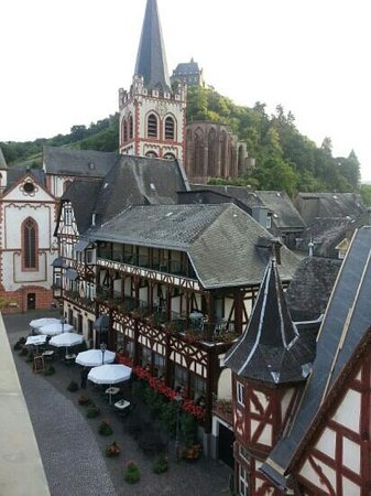 Hotel AM Markt: View from our room on the third floor.