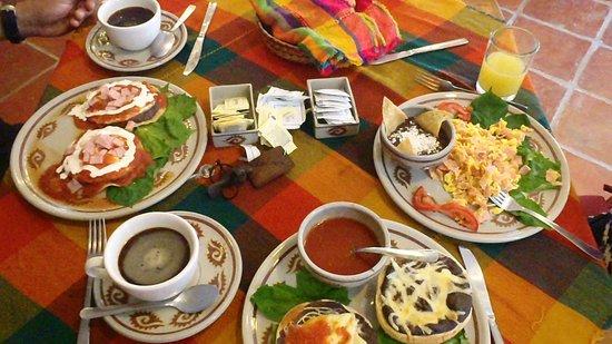 Koox Matan Ka'an Hotel: El almuerzo