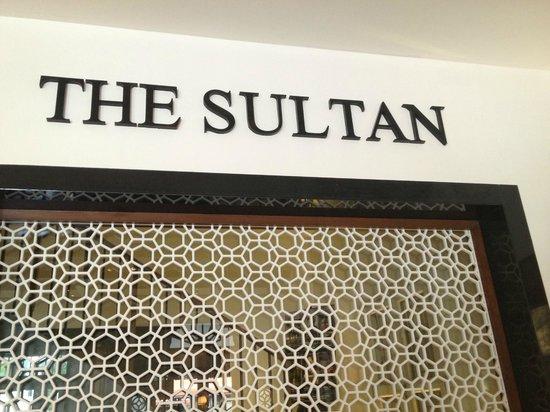 The Sultan: Reception Area