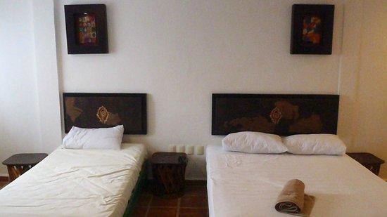 Koox Matan Ka'an Hotel: Las camas
