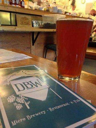 Dunsmuir Brewery Works: IPA was tasty! so is the elk burger.