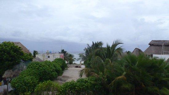 Koox Matan Ka'an Hotel: Vista desde la habitacion