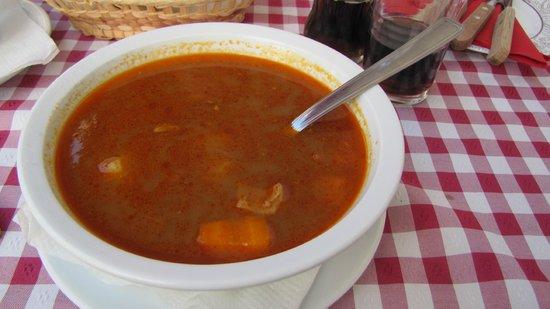 Vardomb Restaurant : Soup
