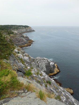 The Island Inn: One of the many coastal views on the island.