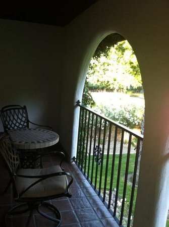 Spanish Villa Inn: balcony
