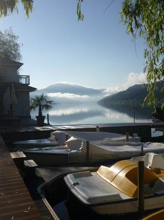 KOLLERs Hotel: Le lac au petit matin