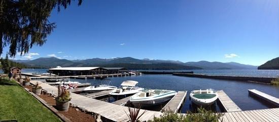 Elkins Resort Restaurant: panarama of the waterfront