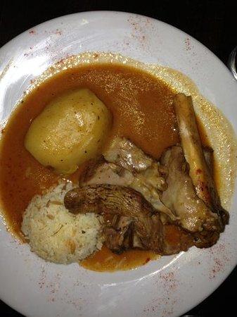 Ottoman Turkish Newcastle: lamb kleftico with potato and rice