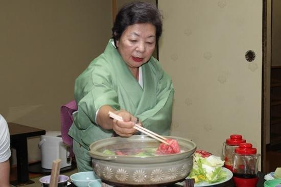 Ryokan Ginkaku : dinner