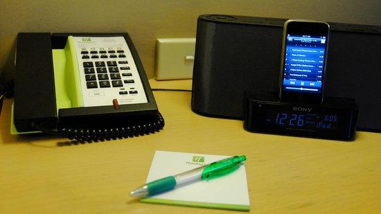 Holiday Inn Perth City Centre: Station pour le IPhone, dans la chambre