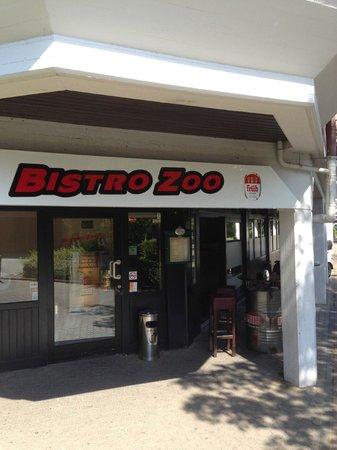 Bistro-ZOO: Der Eingang