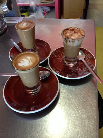 Cafe Ambience: Delicious Emporio coffee made with passion