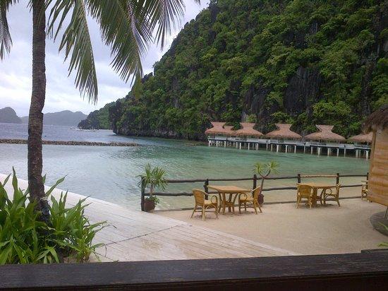 El Nido Resorts Miniloc Island: View from the restaurant