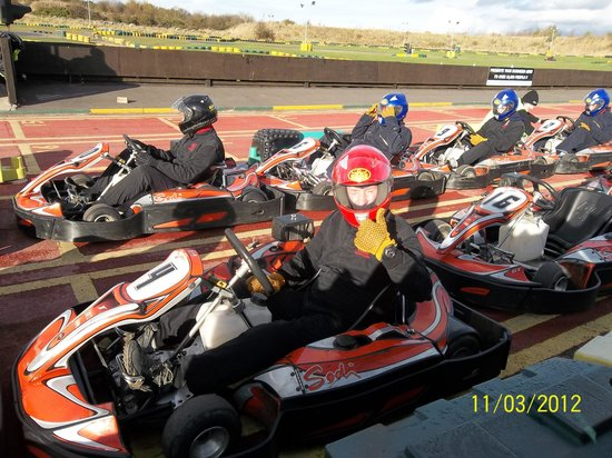 Karting North East: Ready for the off