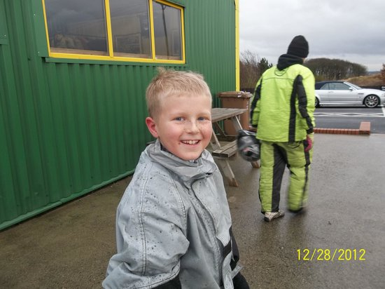 Karting North East: The smile said it all