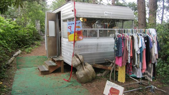 Sou'wester Lodge: Thrifty Trailer!