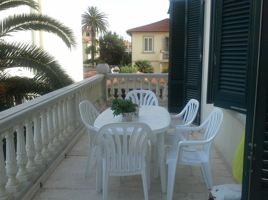 Residence Villa Piani: Il balcone