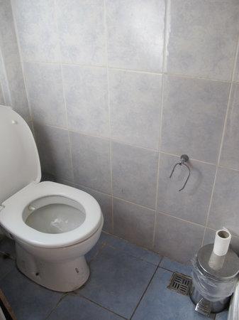Taksim Galata Fuarev Apartments: Toilet roll holder was broken.