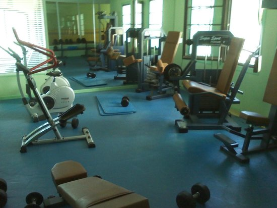 Hotel Spa Montana: Well this is a gym of a 5* star hotel...