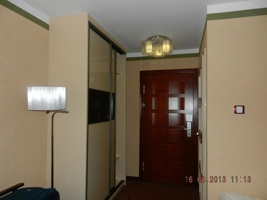 M Hotel Sosnowiec : Inside the room