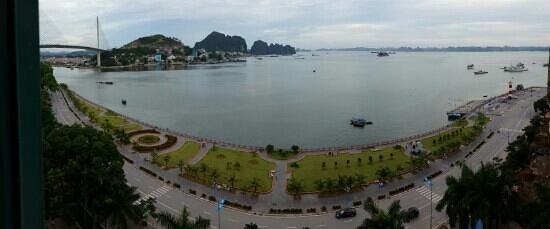 Halong Plaza Hotel: window view