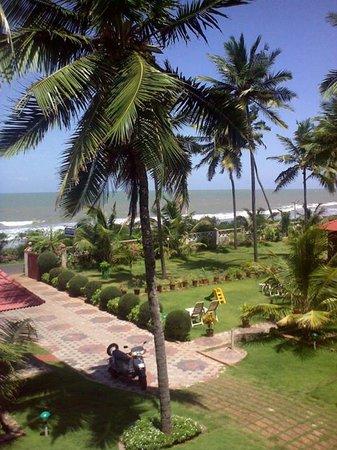 Asokam Beach Resort: Beach View from Resort