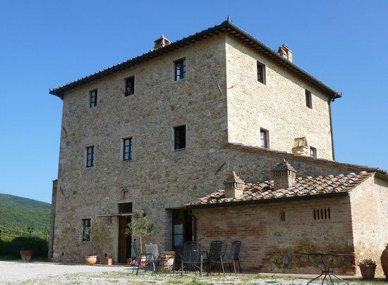 Agriturismo Il Casolare di Bucciano : La batisse maison de caractère