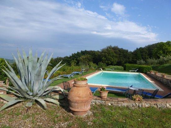 Agriturismo Il Casolare di Bucciano : voici la piscine