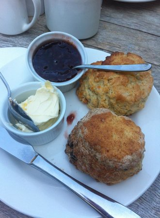 The Old Vicarage: Loveliest homemade scones I have ever tasted!