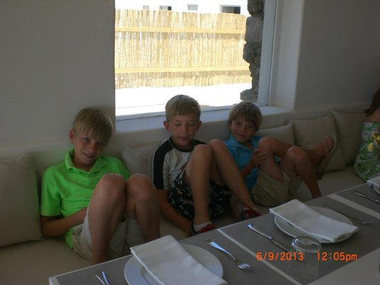 Liasti: Grand kids having Great time.