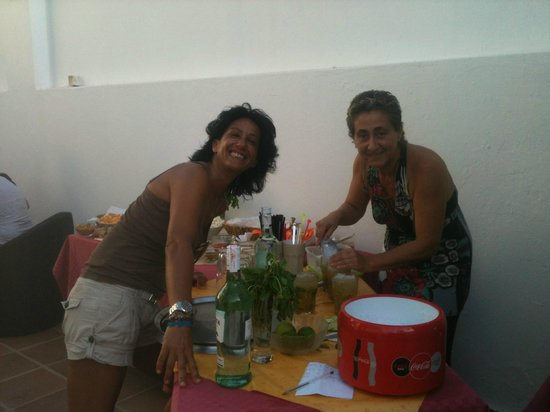 La Casita Hotel: Cinzia e Lorenza
