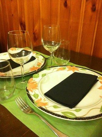 Trattoria Roberto: mesa