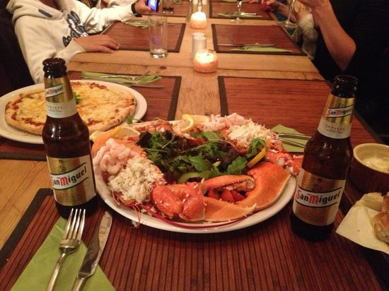 Whitesands Seafood Restaurant: Sea food plater