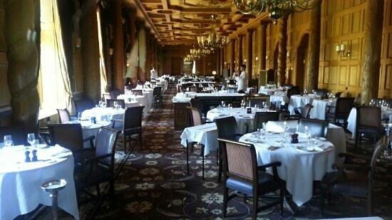 Suvretta House: Dining room