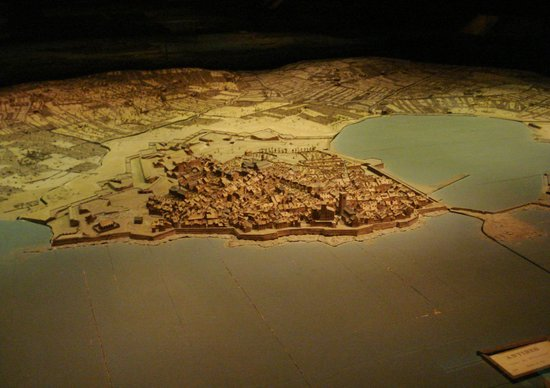 Musee des Plans-Reliefs: Antibes.