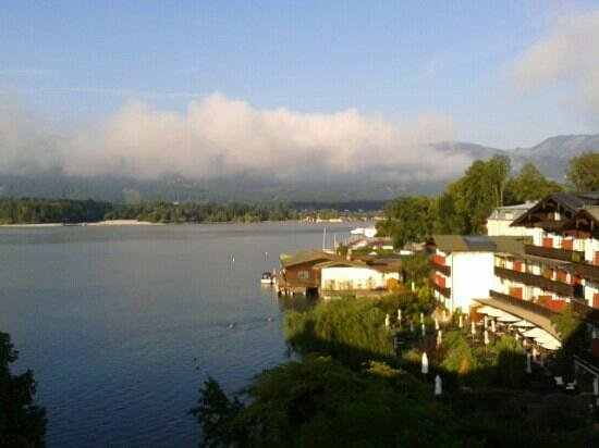 Hotel Cortisen am See: View from our room
