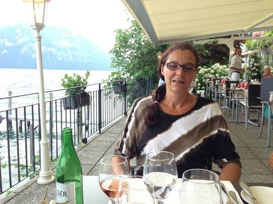 Zee Restaurant: Schöne Terrasse