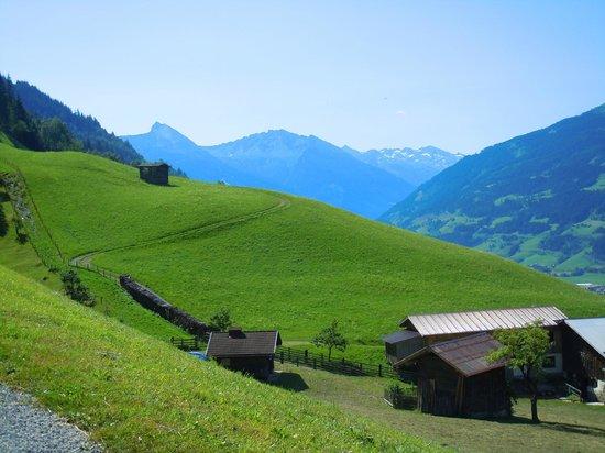 Ferienhaus Birgit: panorama vicino al paese