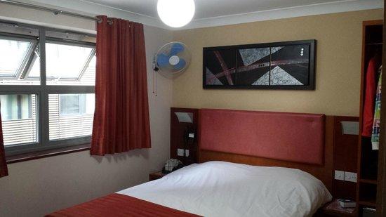 Eurotraveller Hotel: la chambre