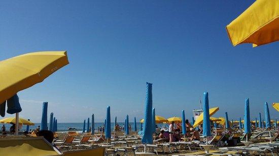 Hotel Torino: Il posto in spiaggia