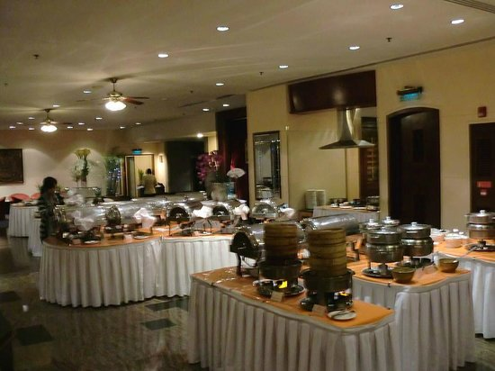Lansheng Hotel Shanghai: 朝食(バイキング)