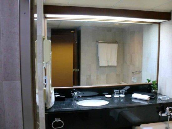 Lansheng Hotel Shanghai: 洗面台