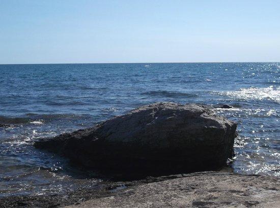Moj Mir & Bungalows: spiaggia