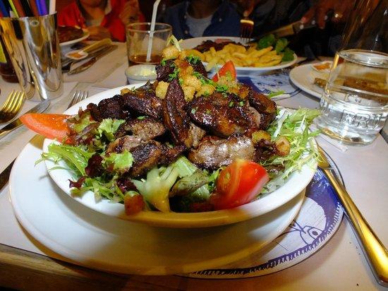 Au Vieux Saint Martin : il mio piatto