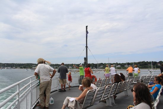 The Steamship Authority - Martha's Vineyard: deck seating