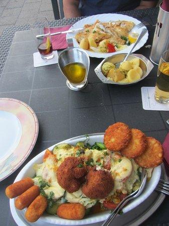 Zum Knurrhahn Hotel-Restaurant: Essen