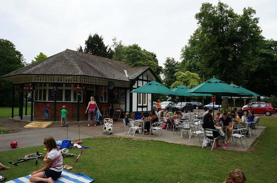Central Cross Cafe  in Pittville Park