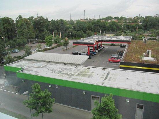 Ibis Budget Augsburg City: Aussicht