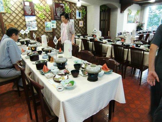 Tsugaike Kogen Hotel: 夕食会場