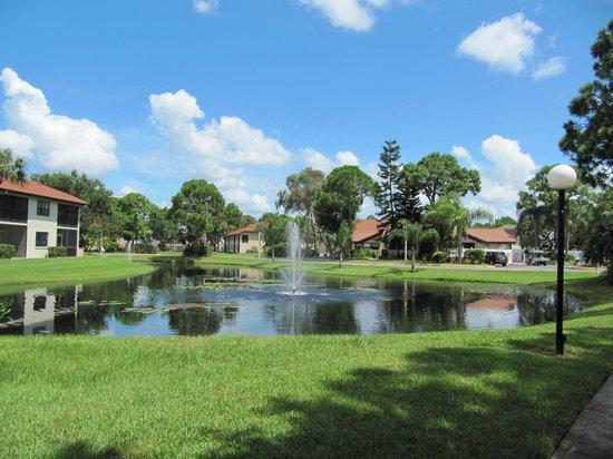 Shorewalk Vacation Villas: Les jolis petits étangs